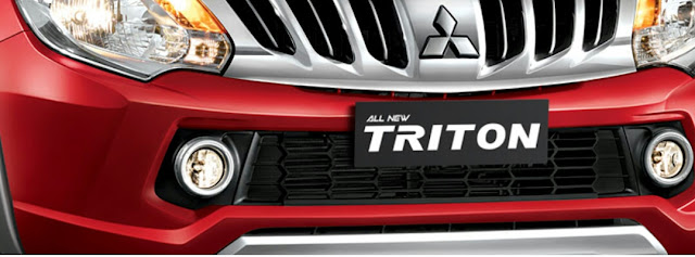 Grill Desain Type Exceed  All New Triton