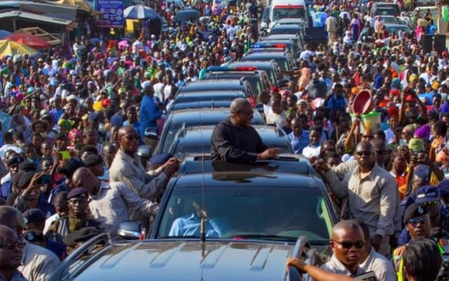 President Mahama storms NPP's 'World Bank'