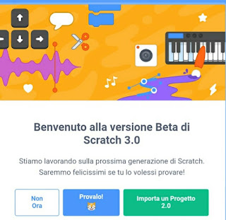 Tools programmare con scratch beta