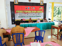 Ponorogo Zona Merah, Forpimka Jetis Gelar Rakor Pembatasan Kegiatan Masyarakat Berbasis Mikro