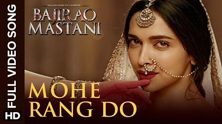 Mohe Rang Do Laal Full Video Latest Hindi Songs 2016 Bajirao Mastani
