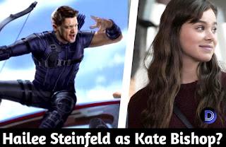 Disney+ Hawkeye Likely to Cast Hailee Steinfeld  as Kate Bishop