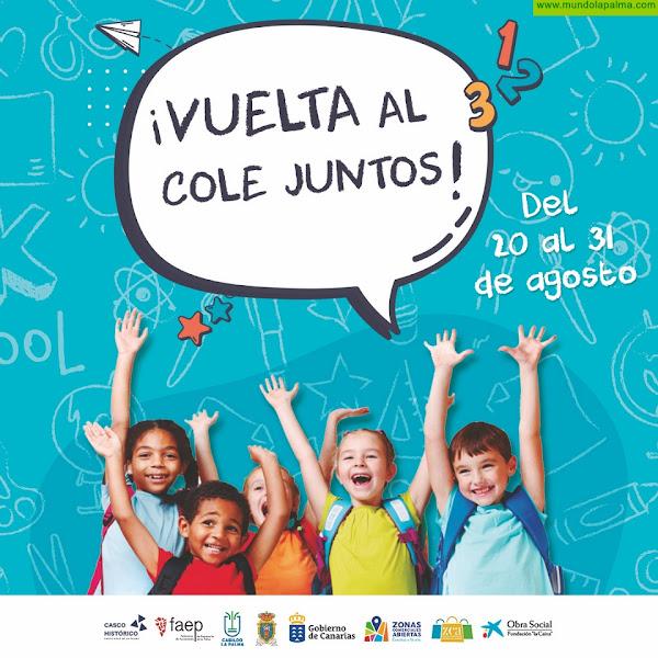 """Casco Histórico presenta la campaña """"VUELTA AL COLE JUNTOS"""""""