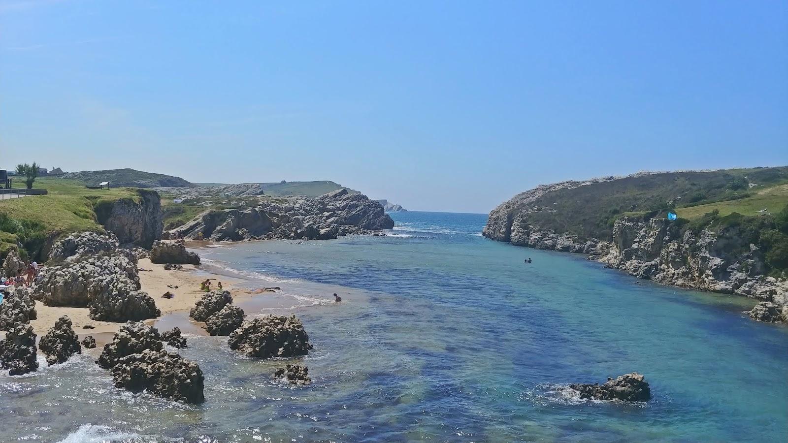 Playa Virgen del Mar plaża Santander