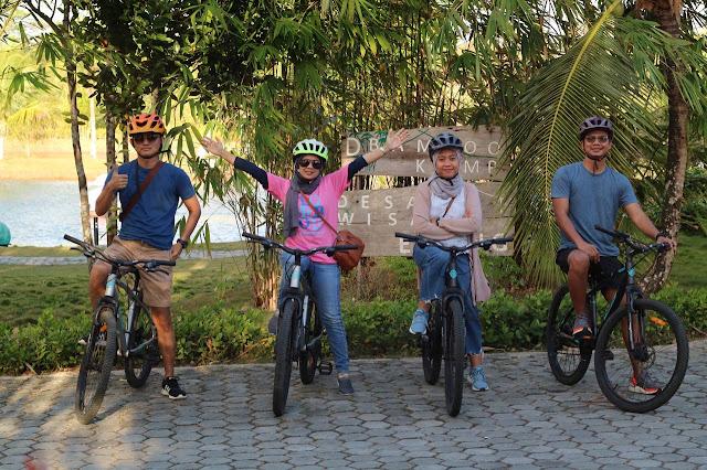 Fasilitas Sepeda Dari Desa Wisata Ekang