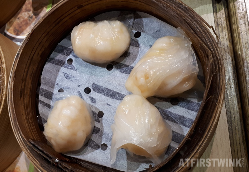 Tim Ho Wan ha kau shrimp dumplings