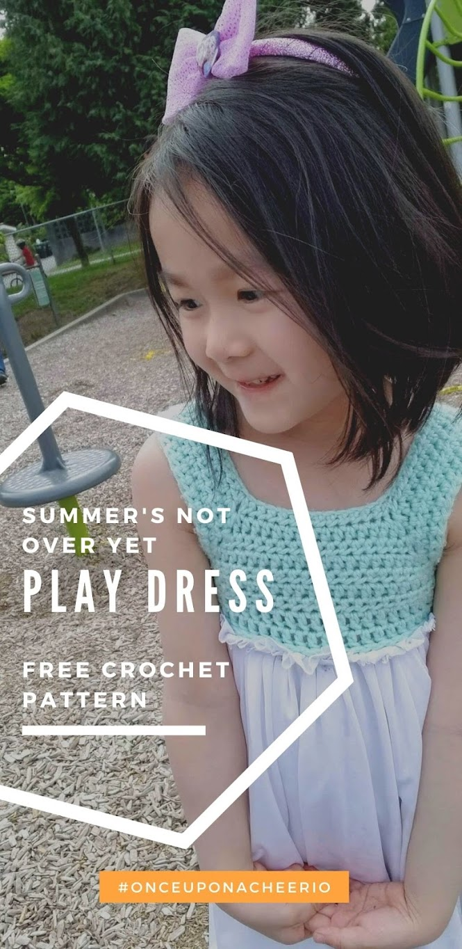 Summer's Not Over Yet Play Dress Free Crochet Dress Pattern