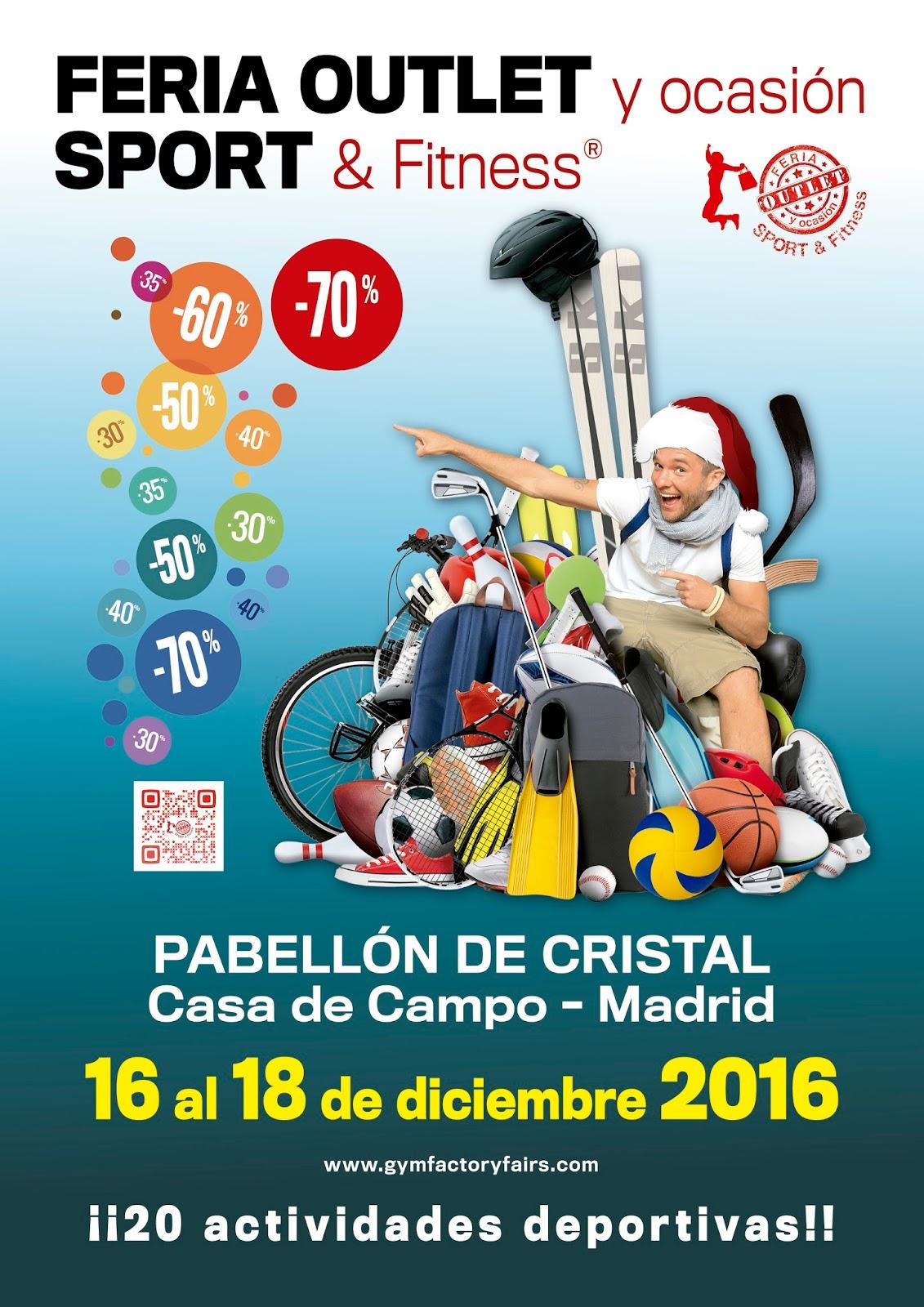 Nosolometro feria outlet y ocasi n sport fitness en el - Pabellon casa de campo madrid ...