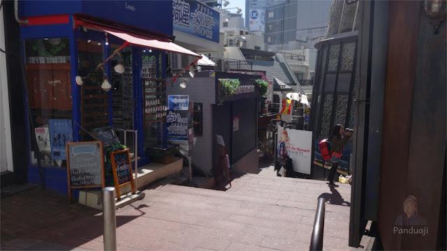 Supeinzaka di Shibuya