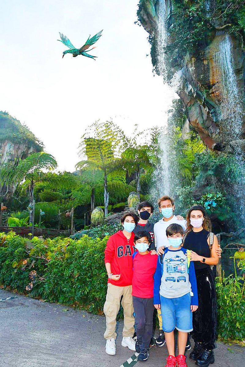 Las medidas extremas de José Luis Villanueva para viajar a Norteamérica en familia