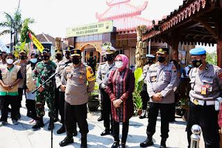 Kapolda Jateng Ingatkan Pada Pengendara Yang Akan Balik Wajib Melengkapi Surat Swab