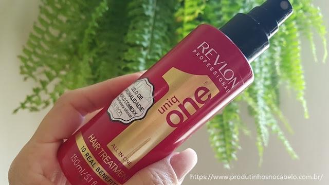 Revlon Uniq One embalagem