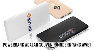 Powerbank adalah Souvenir Modern yang Awet merupakan salah satu keuntungan powerbank untuk promosi perusahaan