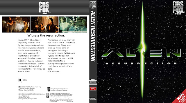 Alien Resurrection Bluray Cover