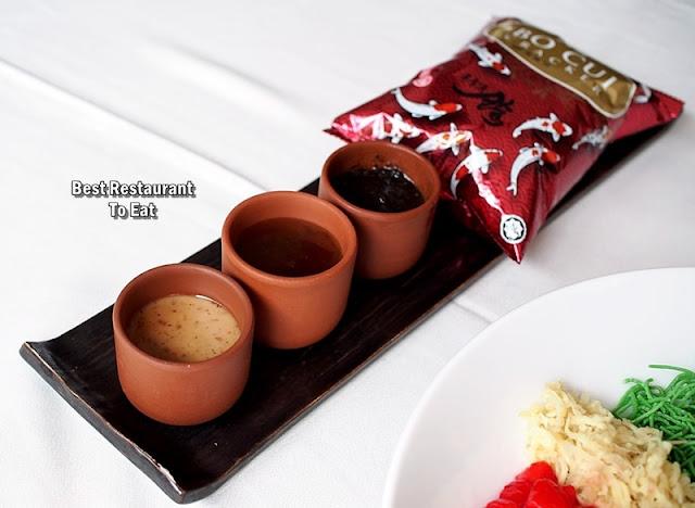 Rama V Menu - Yee Sang Sauce