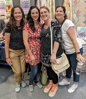 friends at festival of quilts 2019