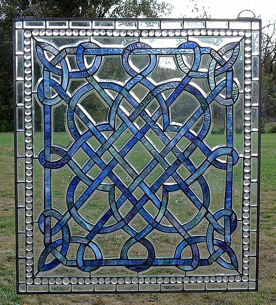 Stained Glass on Pinterest | Celtic Stained Glass, Celtic ...