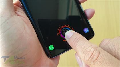 Cách cài hình nền hiệu ứng mở khóa vân cực đẹp trên điện thoại