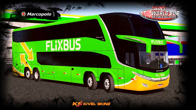 PARADISO G7 1800 DD 8X2 - VIAÇÃO FLIXBUS (ALEMANHA)