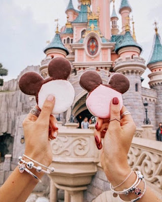 Galletas de mickey mouse