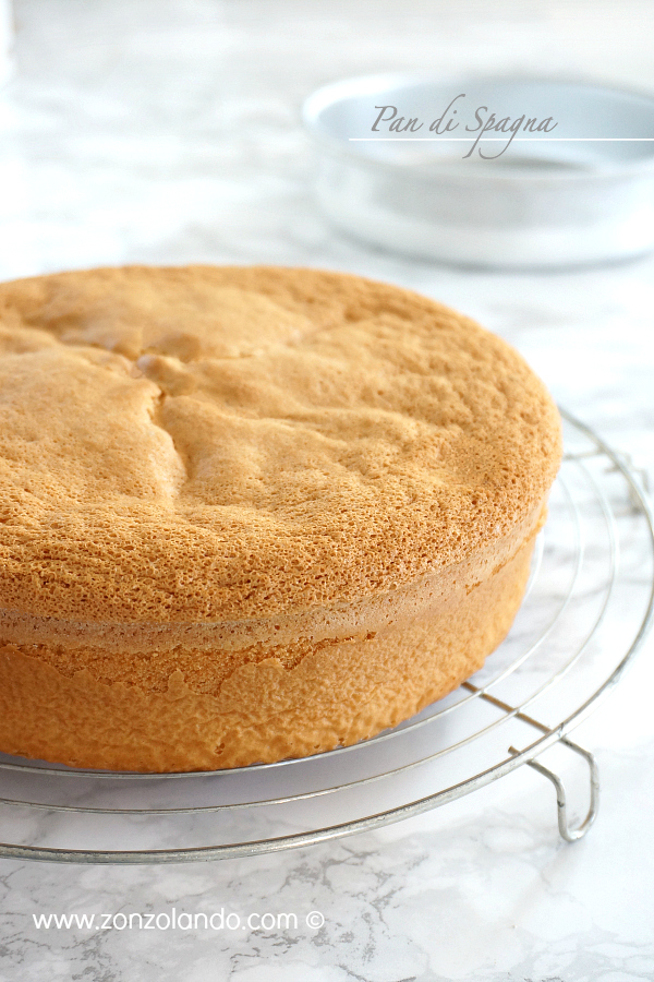Ricetta pan di Spagna soffice morbido perfetto facile Base per torte - perfect sponge cake recipe