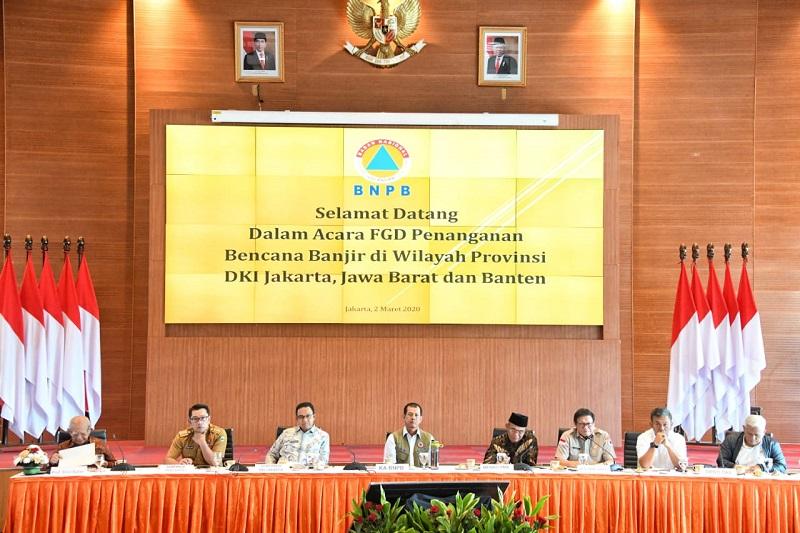 Ridwan Kamil Rekomemdasikan Bentuk Lembaga KhususTangani Banjir Jakarta, Jabar dan Banten