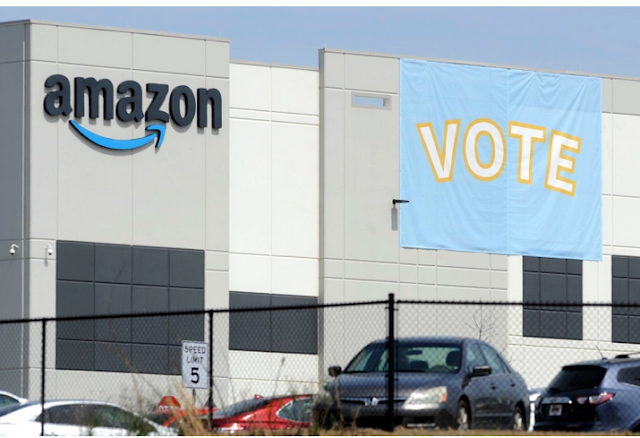 Amazon online retail giant's employee in Alabama vote against unionising