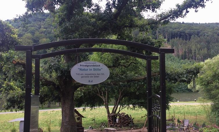 Waldgarten für Qi Gong, Yoga und TaiChi