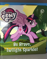 MLP Store Finds - MLP Be Brave Twilight Sparkle Book
