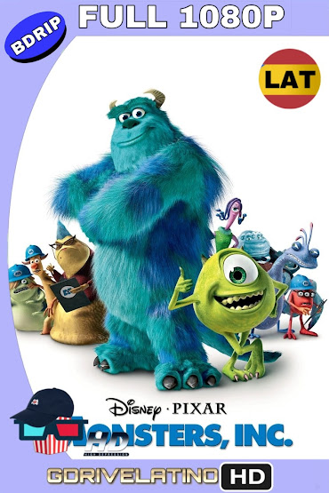Monsters, Inc. (2001) BDRip 1080p Latino-Ingles MKV