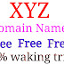 Free .xyz domain name 2020