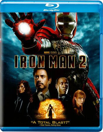 Iron Man 2 (2010) Dual Audio Hindi 720p BluRay x264 1GB ESubs