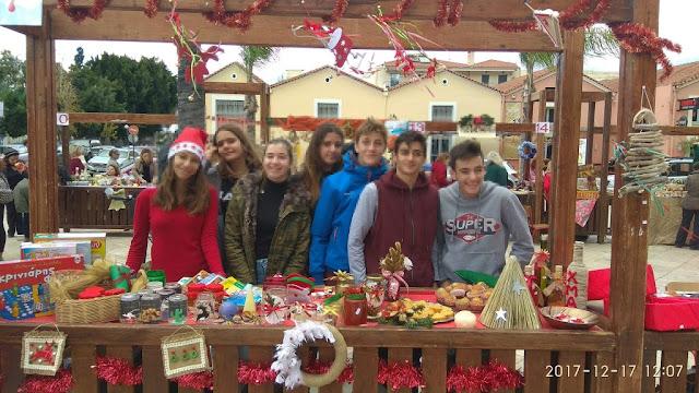 Προετοιμάζεται ο Σύλλογος Γονέων και Κηδεμόνων του 2ου Γυμνασίου Ναυπλίου για το χριστουγεννιάτικο παζάρι