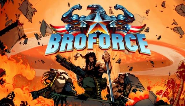 Broforce gameplay