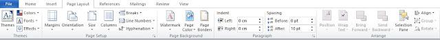 Mengenal Fungsi Menu Page Layout Pada Microsoft Word