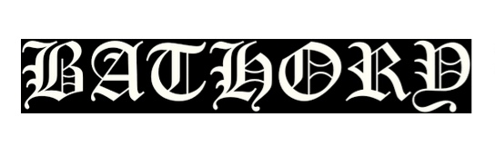 bathory logo le scribe du rock