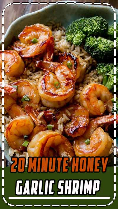 20 Minute Honey Garlic Shrimp Recipe on Yummly. @yummly #recipe