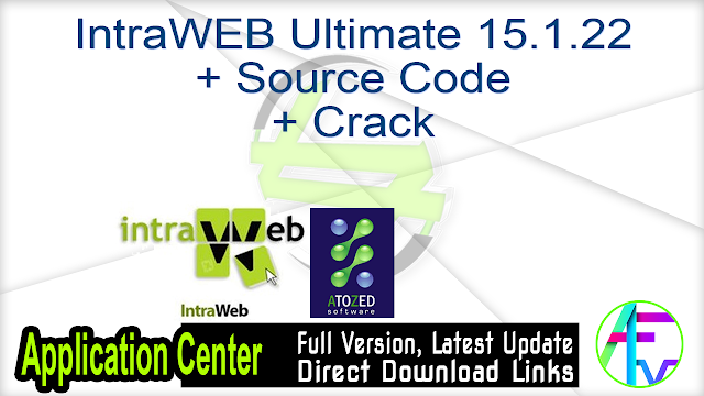 IntraWEB Ultimate 15.1.22 + Source Code + Crack