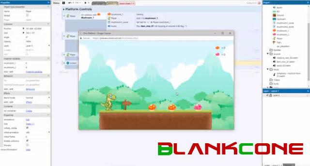 Construct 3 aplikasi pembuat game terpopuler