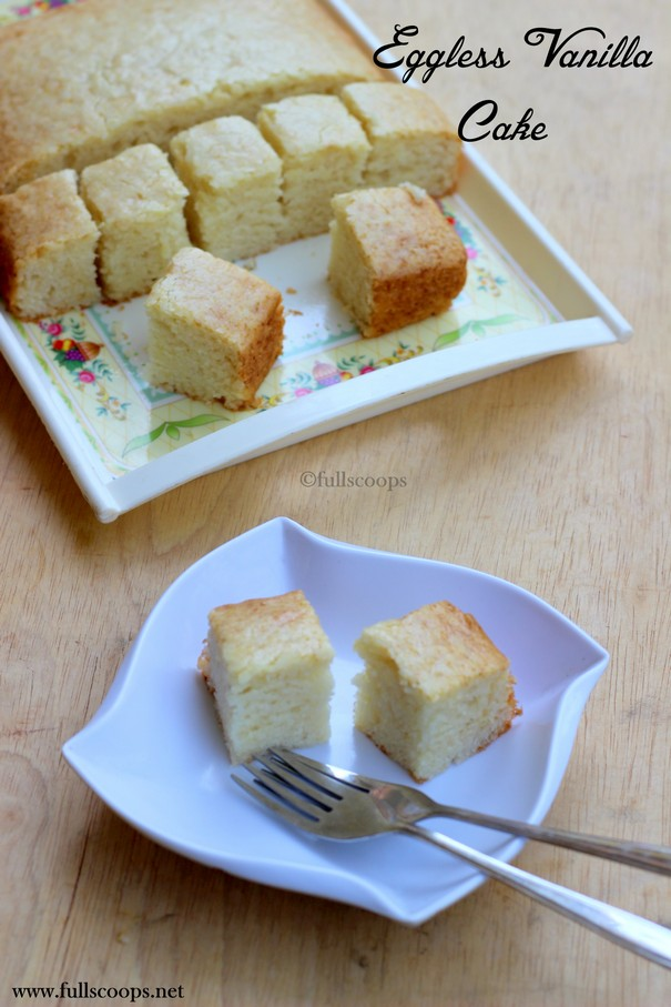 Eggless Sugar Free Cake Recipe