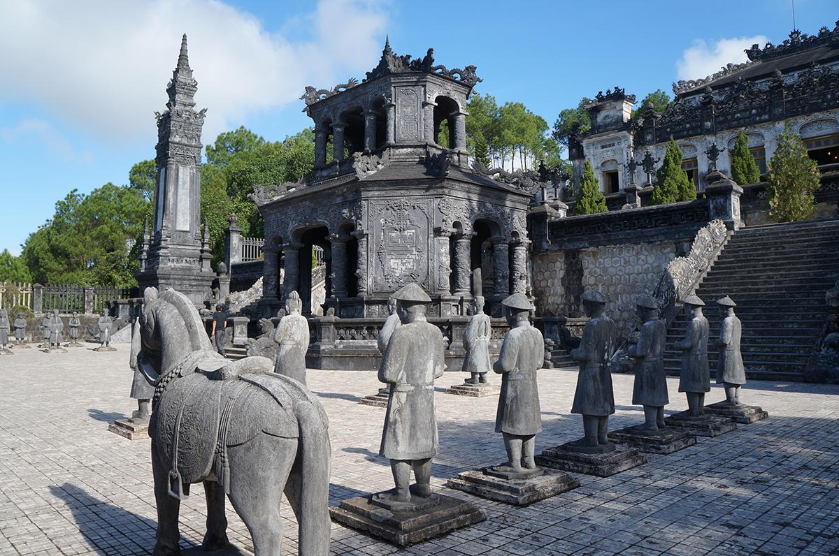 Tumbas Imperiales en Hue (Vietnam)