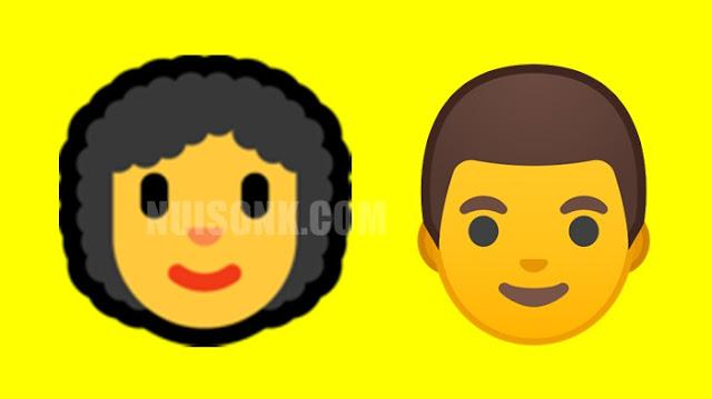 Cara Buat Emoticon Berambut, Emoji Trending yang Viral