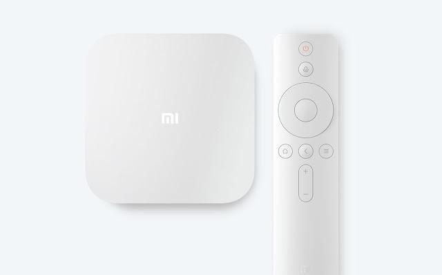 Xiaomi Mi Box 4S Pro - Beyaz, White