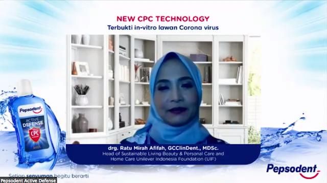 drg. Ratu Mirah Afifah Unilever
