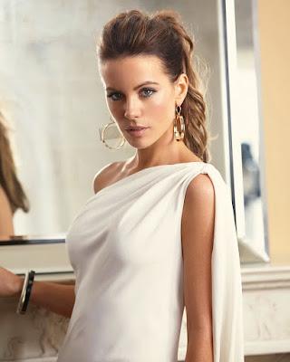 Kate Beckinsale sexy Greek traditionla dress