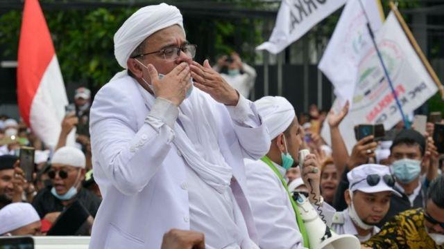 Habib Rizieq: Pemerintah Bubarkan FPI Justru di Saat Semua Syarat Terpenuhi
