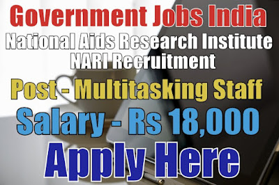 National Aids Research Institute NARI Recruitment 2017
