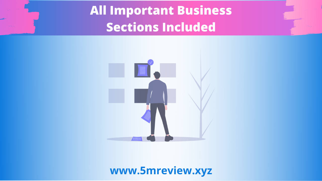 WebSuitePro All Important Business Sections Included