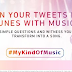 Tata Sky's unique activation #MyKindOfMusic where your thoughts convert to songs