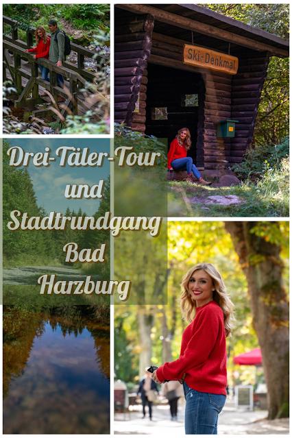 Drei-Täler-Tour und Stadtrundgang Bad Harzburg  Wandern im Harz  Eckerstausee - Radauwasserfall 02